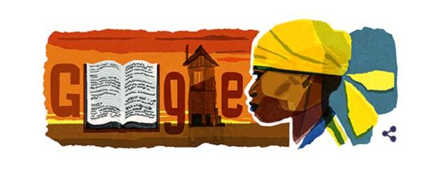 Homenagem do Google pelo aniversário de Carolina Maria de Jesus (Foto: Reprodução/Google)