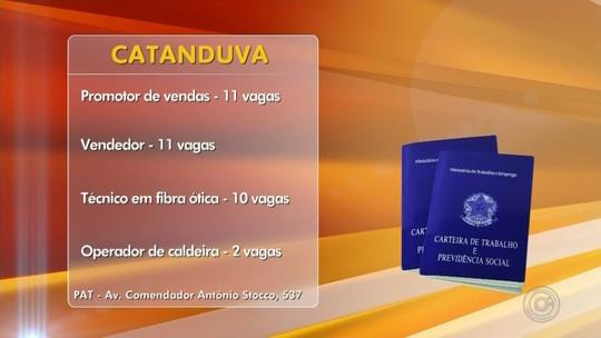 PAT de Catanduva tem 54 vagas de trabalho abertas