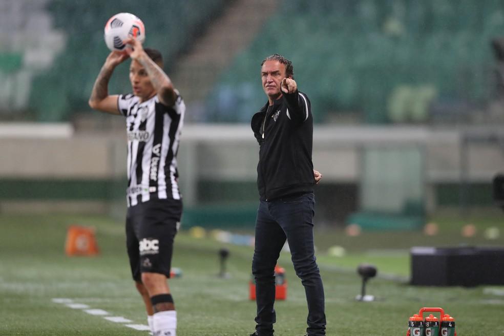 Cuca; Palmeiras x Atlético-MG — Foto: Pedro Souza/Atlético-MG