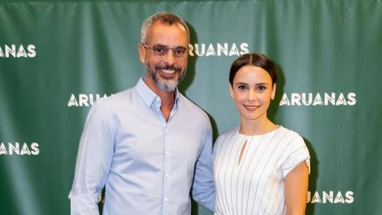 Débora Falabella e Marcos Nisti lançam 'Aruanas' em Portugal