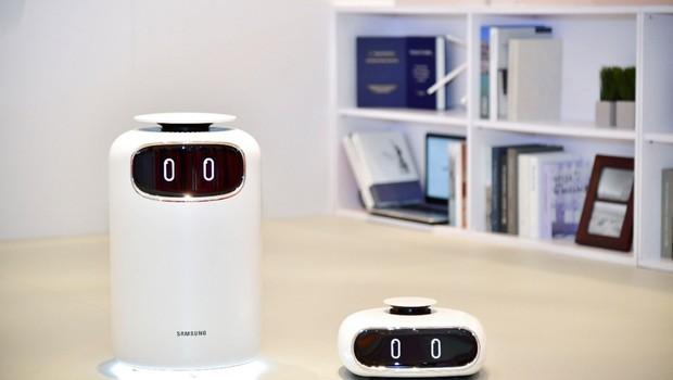 Purificador de ar e aspirador de pó tecnológicos da Samsung (Foto: Divulgação)
