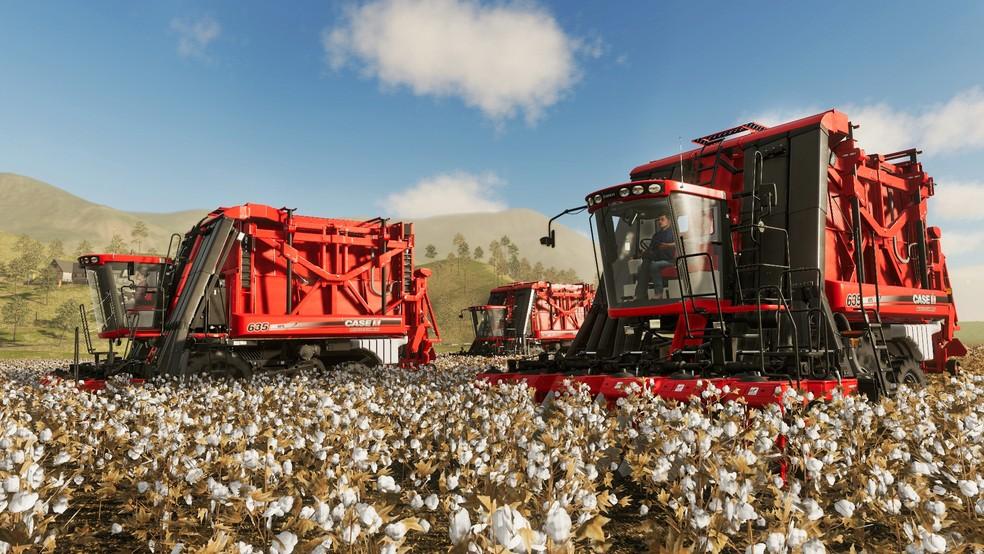 Farming Simulator 19 tem visuais de altíssima qualidade e apela aos fãs de simuladores de fazenda. — Foto: Divulgação/Giants Software