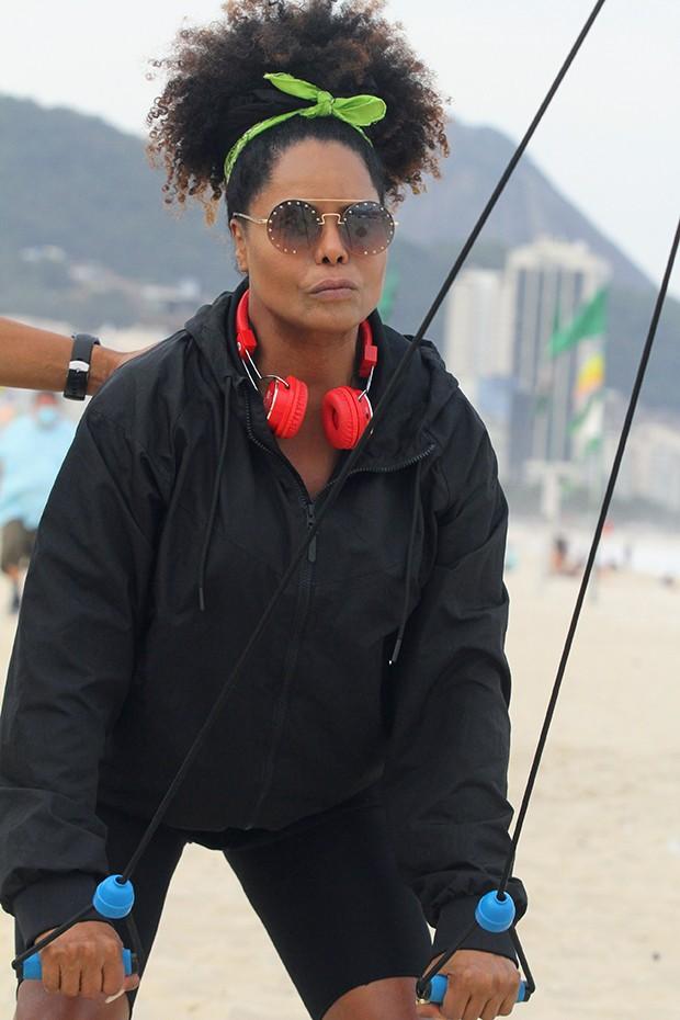 Adriana Bombom (Foto: Daniel Delmiro/ AgNews)