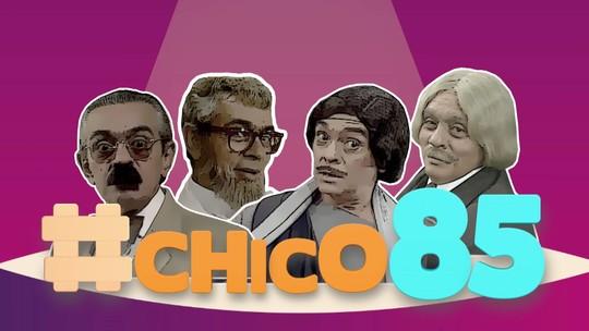 Chico Anysio será homenageado em #Chico85 neste sábado (16)