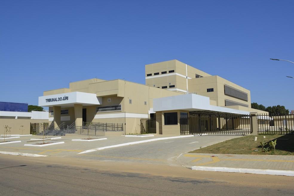Fórum conta com anexo para o Tribunal do Júri em Ariquemes, RO. — Foto: Jeferson Carlos/Arquivo G1