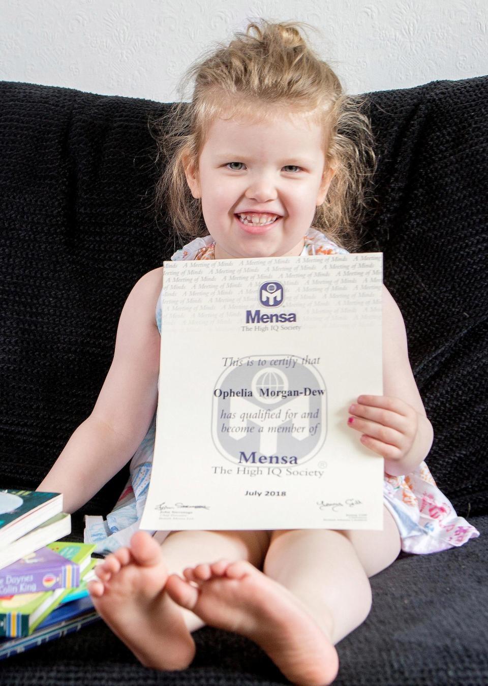 Ophelia Morgan-Dew's (Foto: Reprodução SOUTH WEST NEWS SERVICE)