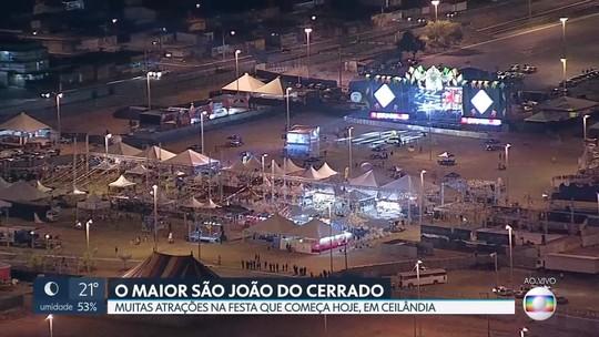 Maior São João do Cerrado começa em Ceilândia nesta sexta-feira