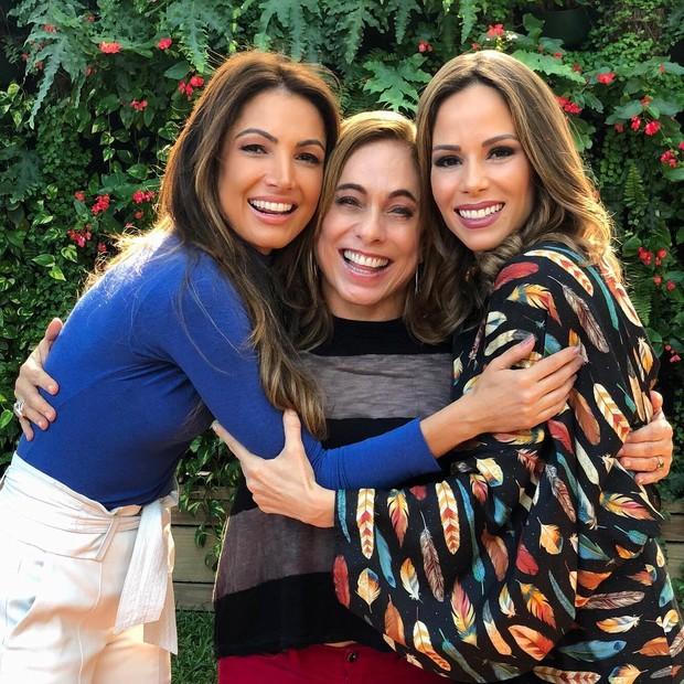 Patrícia Poeta, Cissa Guimarães e Ana Furtado (Foto: Reprodução/Instagram)