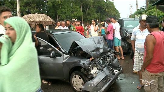 Acidentes automobilísticos são registrados no fim de semana no Maranhão