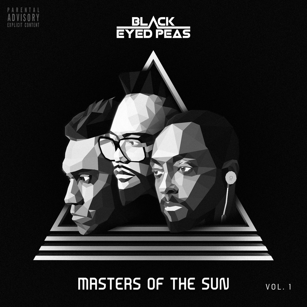Capa de 'Masters of the Sun', do Black Eyed Peas — Foto: Divulgação