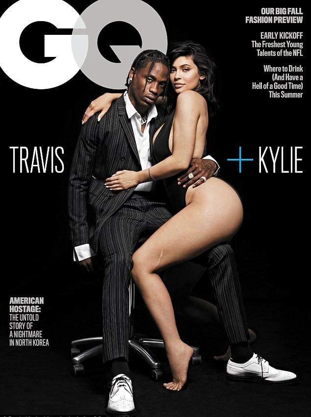 Kylie Jenner e Travis Scott (Foto: Reprodução)