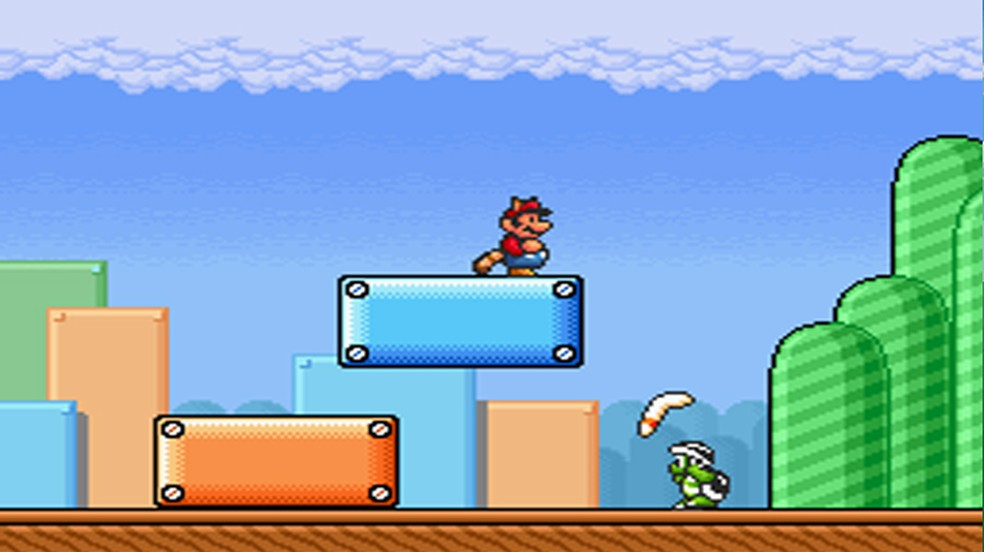 Super Mario All-Stars deu a oportunidade de jogadores reverem Super Mario Bros. 3 no Super Nintendo — Foto: Reprodução/Significant Bits
