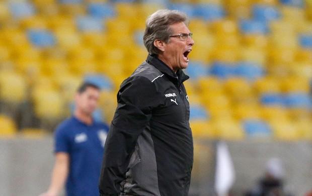 Oswaldo de Oliveira jogo Botafogo contra Ponte Preta (Foto: Ivo Gonzalez / Agencia O Globo)