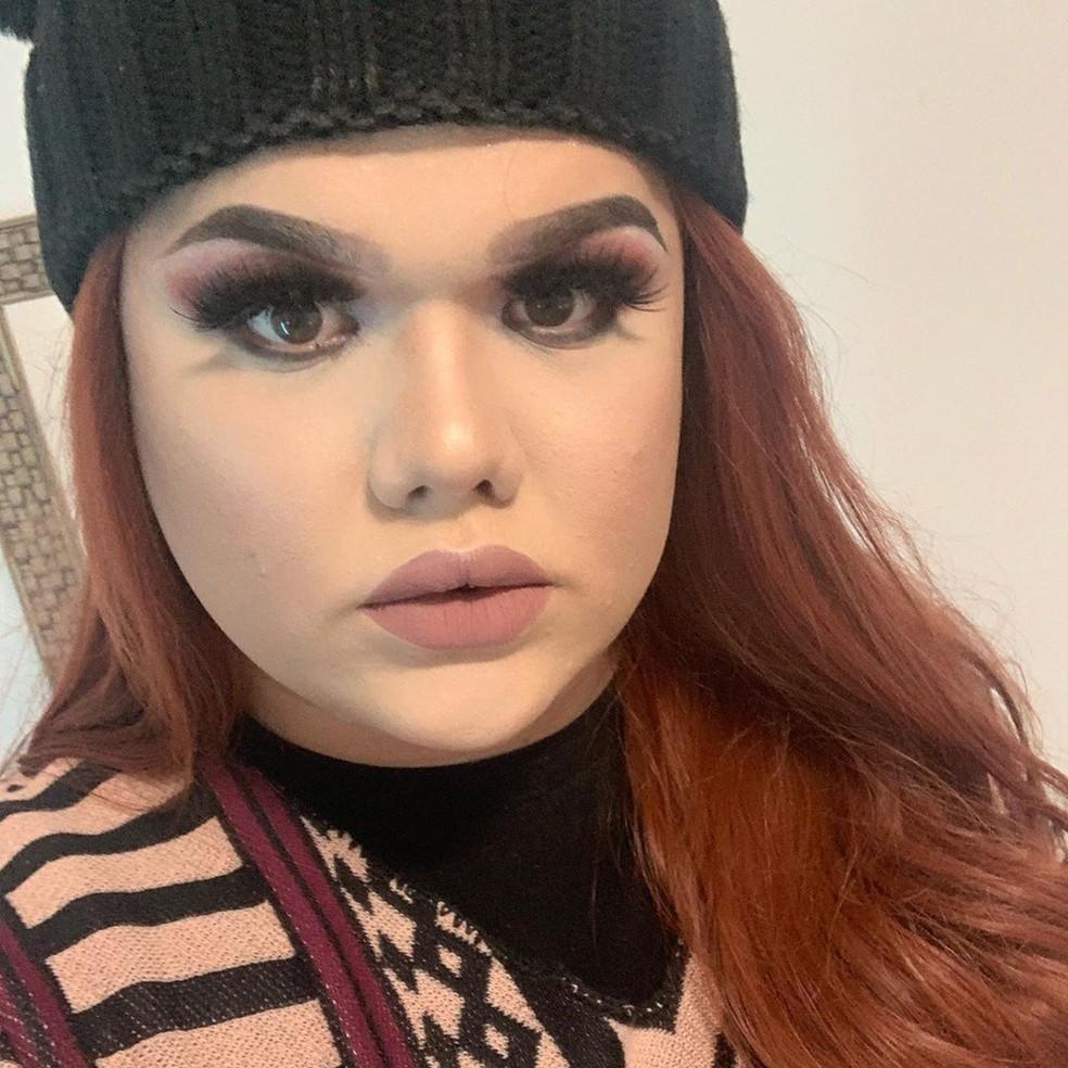 Rebeca Trans acredita que os jogos dão visibilidade para ela, mas afirma que ainda há muito preconceito — Foto: Reprodução