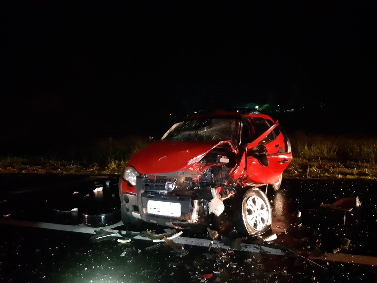 Duas pessoas morrem e cinco ficam gravemente feridas em acidentes em rodovias federais do Paraná