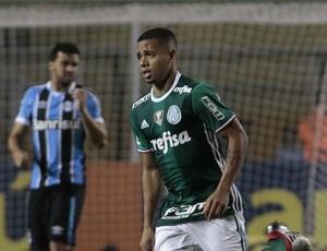 Palmeiras x Grêmio comemoração Gabriel Jesus