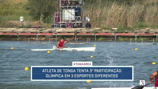 """Lanterna no Mundial, """"Besuntado de Tonga"""" mantém vivo sonho da vaga olímpica em Tóquio 2020"""