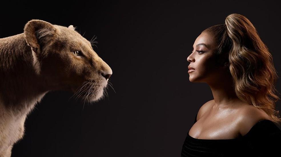 Beyoncé (Nala) — Foto: Divulgação/Disney