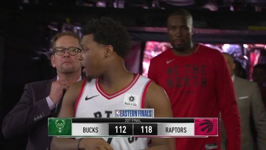 Provocação de Drake e Kawhi decisivo marcam a reação dos Raptors nas finais do Leste