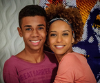 Vicente (Max Lima) e Verônica (Taís Araújo)   Divulgação