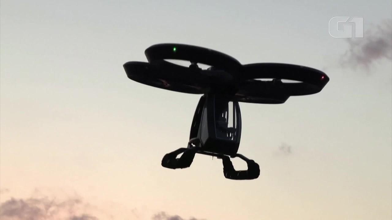Protótipo de carro voador da Turquia faz primeiro teste de voo com sucesso