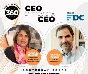 CEOs da Rhodia e SulAmérica debatem futuro da sustentabilidade