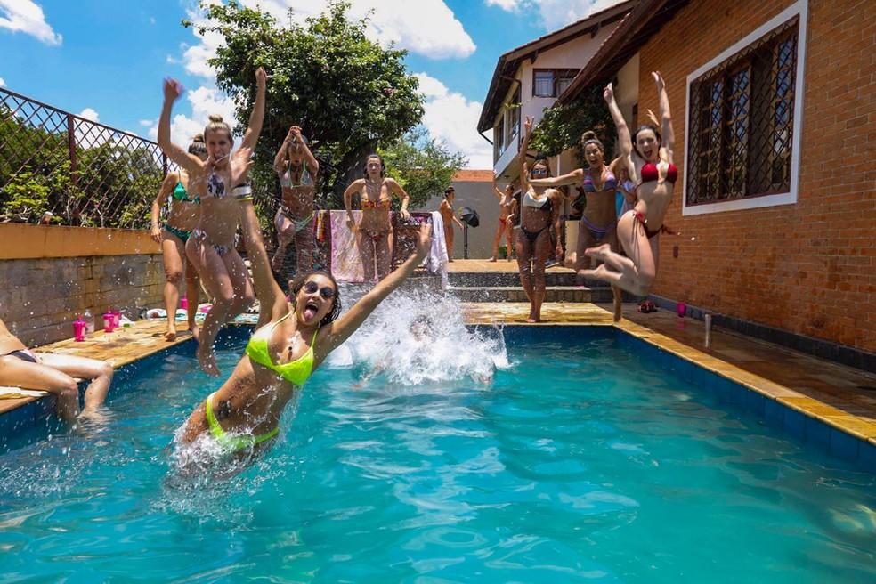Muita diversão no sábadão! — Foto: Eder Ortega/Divulgação