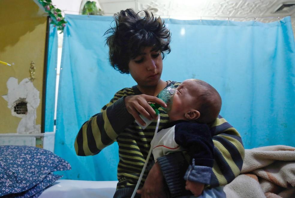 Armas químicas continuam a ser usadas na Síria?