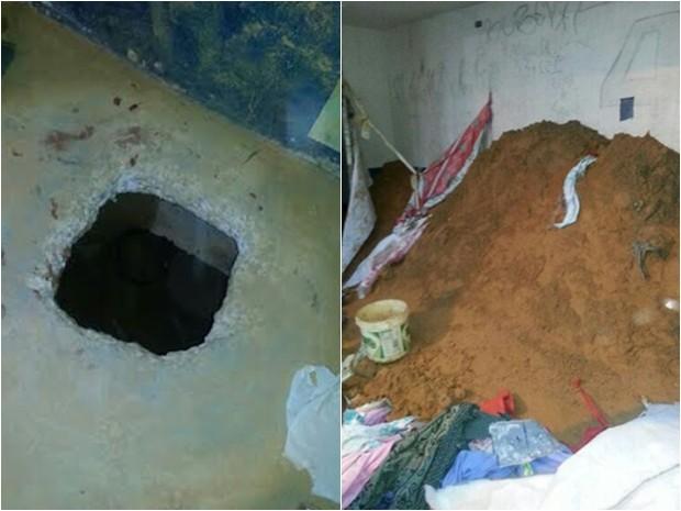 Detentos cavaram túnel e escaparam do PSL I de Pedrinhas em São Luís