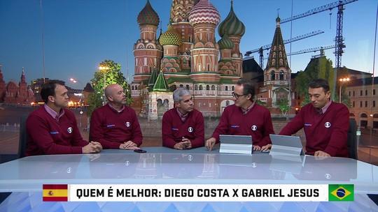 Quem é melhor? Gabriel Jesus e Diego Costa disputam escolha dos analistas
