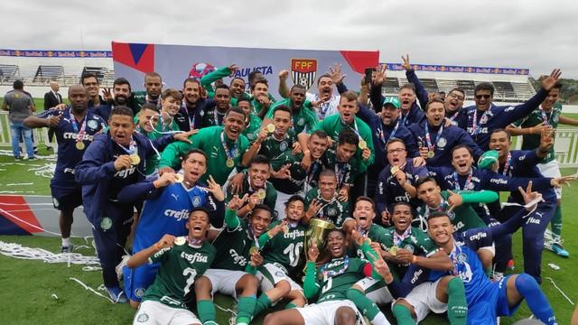 Palmeiras é campeão do Campeonato Paulista Sub-20