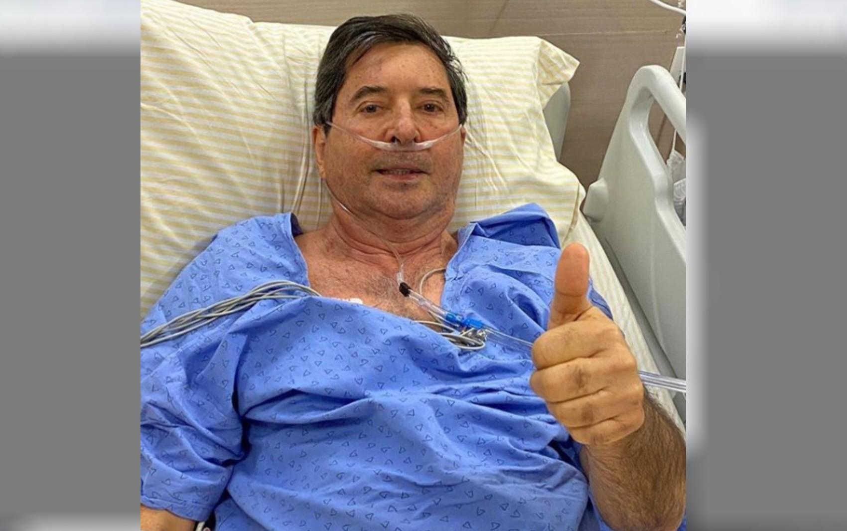 Maguito Vilela é entubado no hospital Albert Einstein após piora no quadro respiratório durante tratamento contra o coronavírus