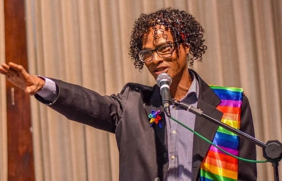 André Lopes, coordenador do Departamento da Diversidade da Prefeitura de Macapá e organizador do evento — Foto: Arquivo Pessoal