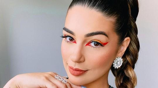 Prêmio Multishow: Vivian Amorim ensina passo a passo de maquiagem
