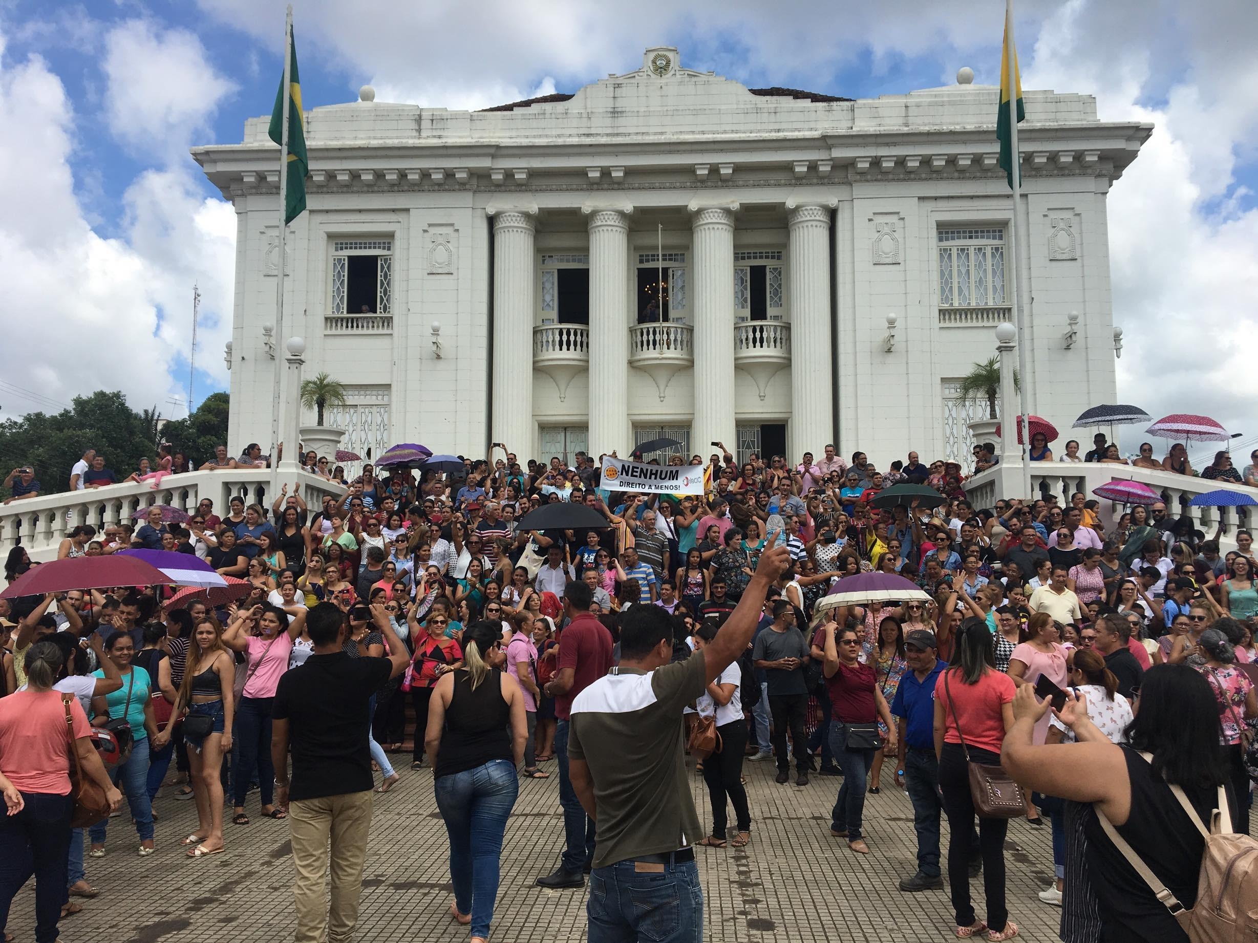 Mesmo com votação da reforma da Previdência estadual adiada, Educação para no Acre - Notícias - Plantão Diário