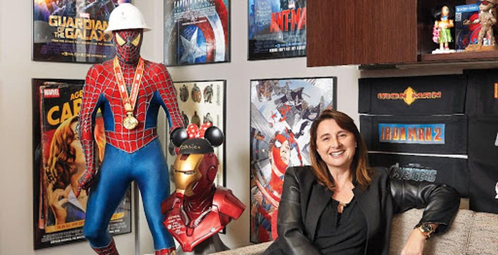 Victoria Alonso, a executiva geek especialista em efeitos visuais — Foto: The Hollywood Reporter