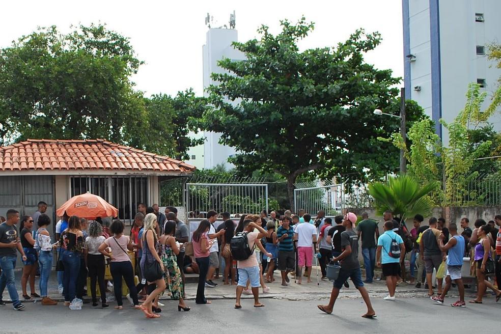 Concurso foi realizado neste domingo — Foto: Divulgação/Saeb