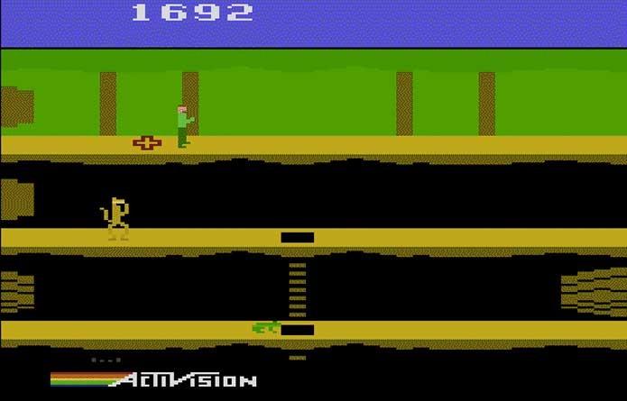 Pitfall foi desenhado em 10 minutos (Foto: Reprodução/Atari Archive)