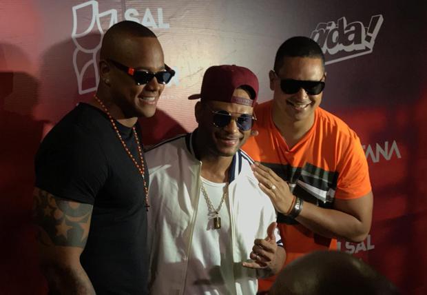 Leo Santana, Tony Salles e Xanddy (Foto: QUEM)