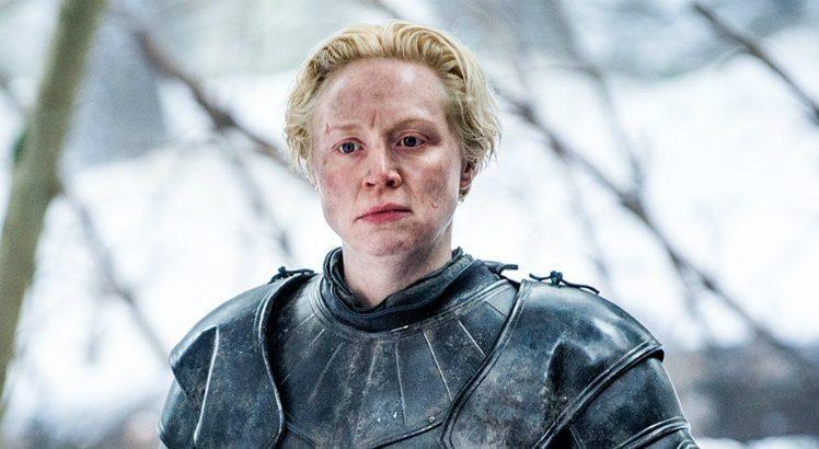 Atriz Gwendoline Christie está em Game of Thrones e Star Wars (Foto: Reprodução/HBO)
