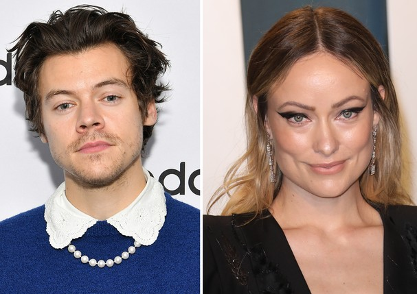 Harry Styles e Olivia Wilde (Foto: Getty Images)