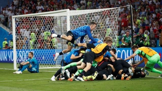Festa da Croácia após a classificação