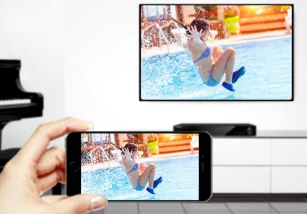 AnyCast tem suporte a Miracast, AirPlay e DLNA, além de Wi-Fi  (Foto: Divulgação/AnyCast)