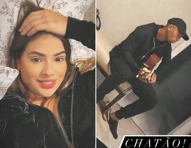 Raiane Lima reclama de Gabriel Jesus tocar violão e não deixá-la dormir: Chatão