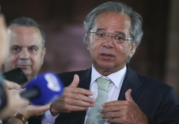 Ministro da Economia Paulo Guedes (Foto: Valter Campanato/Agência Brasil)