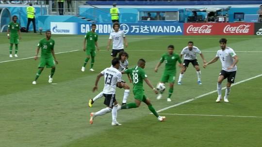 Os gols de Arábia Saudita 2 x 1 Egito pela Copa do Mundo 2018