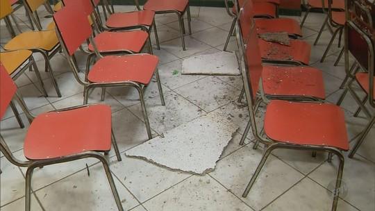 Aulas são suspensas para 620 alunos após invasão de vândalos a escola estadual de São Lourenço, MG