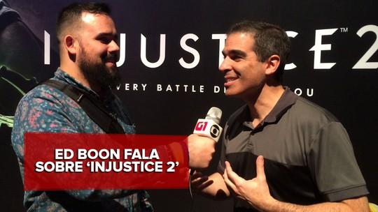 'Injustice 2': Queremos que jogador crie seu próprio Batman, diz Ed Boon