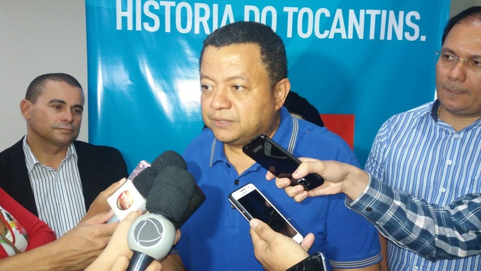 Márlon Reis foi confirmado como o candidato da Rede ao governo do Tocantins (Foto: Mazim Aguiar/TV Anhanguera)