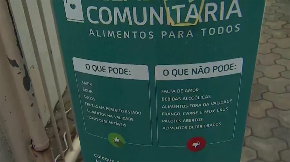 Equipamento foi roubado menos de 24h após ser instalado no local — Foto: Reprodução/TV Bahia